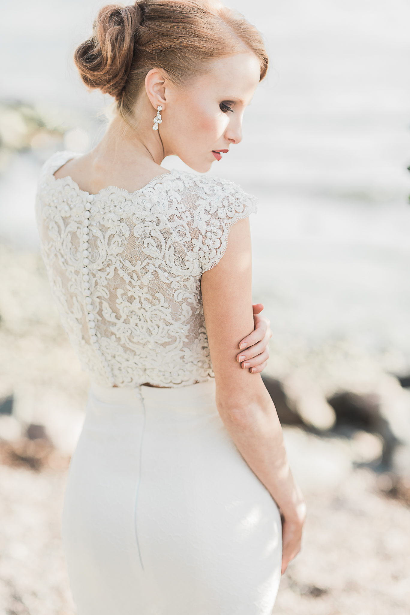 Dress Made using Ava Lace