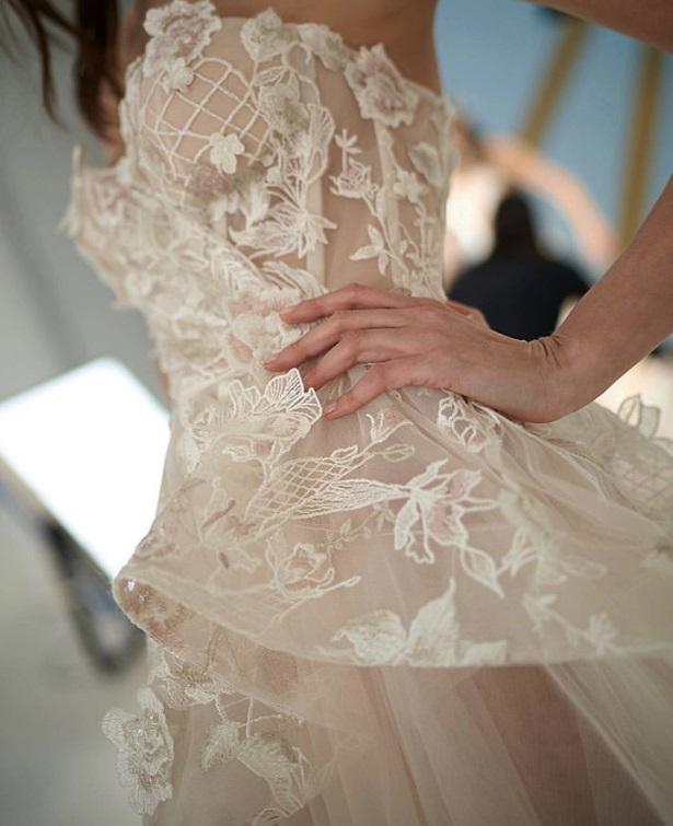 Ivory & Blush Lace – Antonella