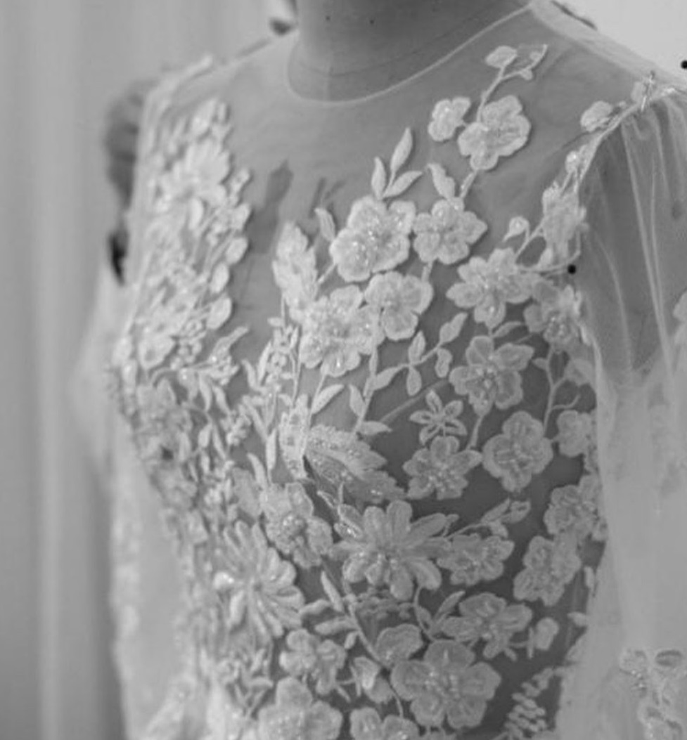 Briar: Ivory Beaded Lace
