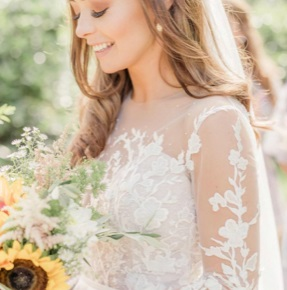 Janine: White Embroidered Lace