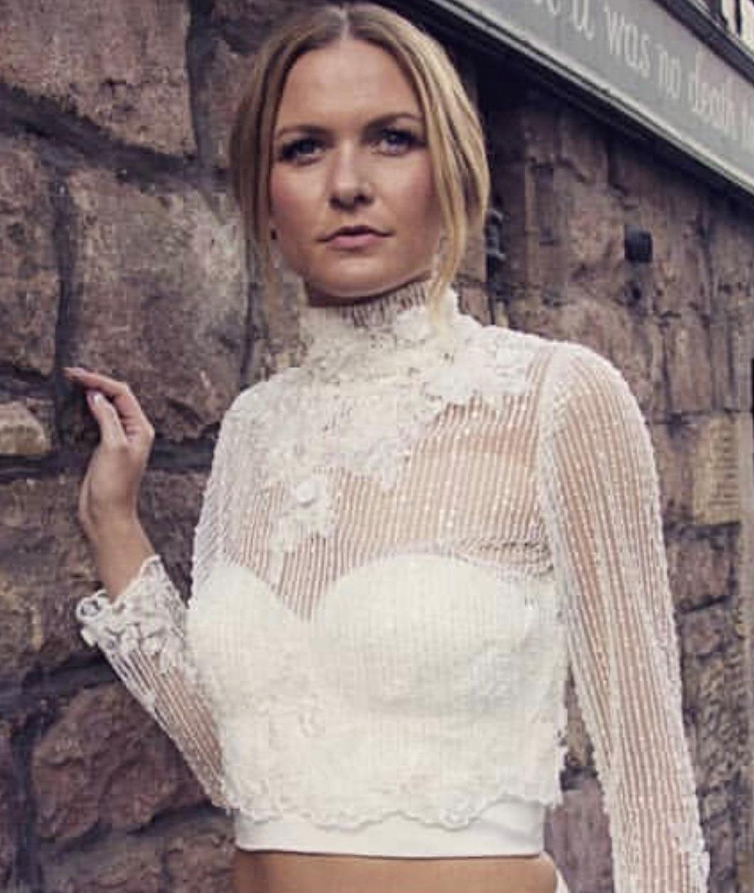Bridal Separates. Iris Lace Dress1