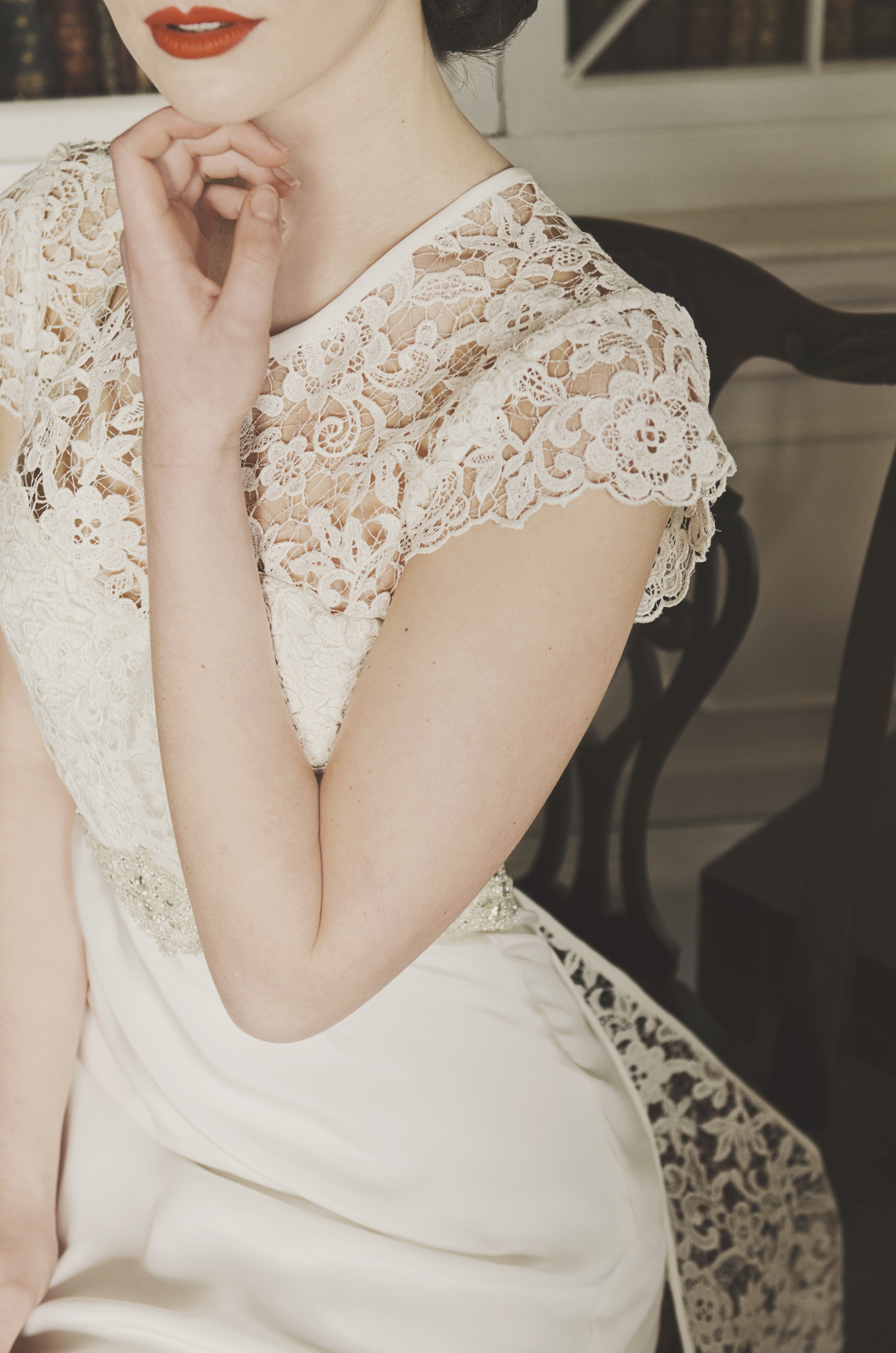 Lucy: Ivory Guipure Lace
